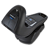 Wireless Charging Base Station, BT, USB/RS-232/Wedge Multi-Interface, Black